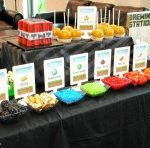 Minecraft Snack Table